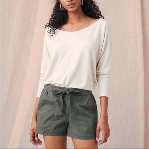 NWOT Lou & Grey Garment Dyed Shorts